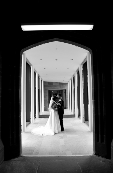 wedding-photography-bolton-school-pillars