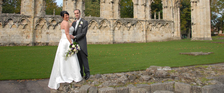 Tina and Andy, Haxby Church and York Pavilion Hotel